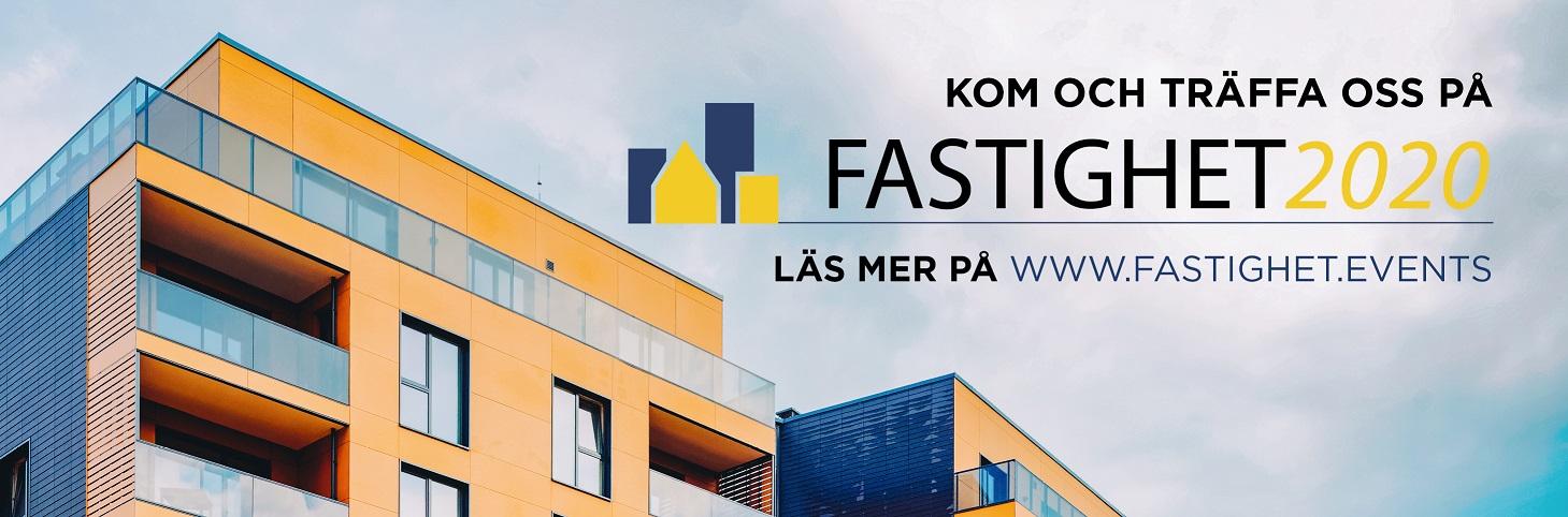 Välkommen till Fastighet 2020 – Mässa för fastighetsägare